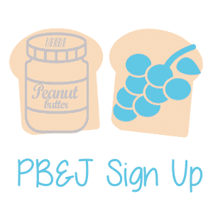 The Unforgotten Haven's PB&J Sign Up Button