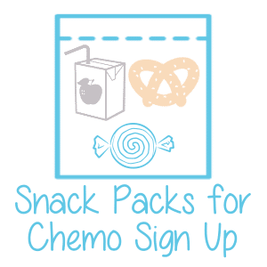 Unforgotten Haven Snack Packs for Chemo Sign Up Button