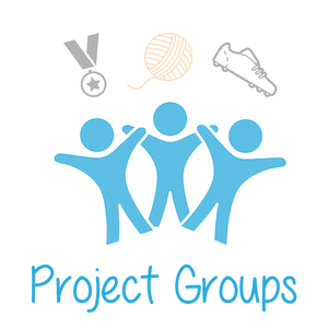 Project Groups Button