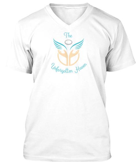 White Unforgotten Haven T-Shirt